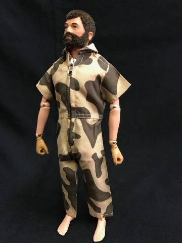 ELITE BRIGADE - AT Style Jumpsuit Short Sleeve Amoeba Camo to fit Action Man/Gi Joe Adventure Team etc